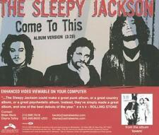 The Sleepy Jackson: Come To This PROMO Music CD Album & Enhanced Video Lovers