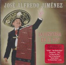 CD - Jose Alfredo Jimenez NEW La Historia De El Rey 20 Tracks FAST SHIPPING !