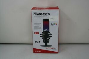 FAULTY HyperX Quadcast S RGB USB Condenser Microphone (OFFERS WELCOME)