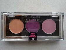 Maybelline Eyestudio Trio Cream Eyeshadow 20 Purple Possibilities Eye shadow