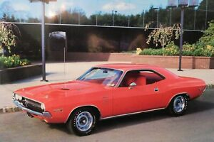 1970 DODGE HEMI  CHALLENGER R/T POSTER