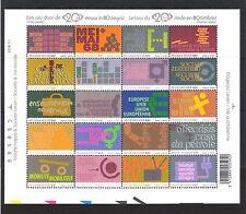 BELGIQUE (2002) - COB BLOC 99 - 3111/30**MNH - THIS IS BELGIUM - VIE SOCIALE