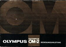OLYMPUS OM-2 - NOTICE - Bedienungsanleitung - Allemand -