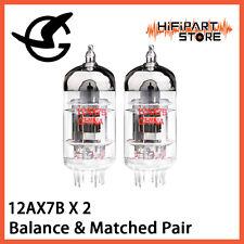 2pcs Shuguang 12AX7B Balance & Matched Pair Valve Tube Replace JJ Mullard ECC83