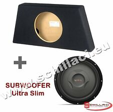 INFINITY 1200S Sub + cassa chiusa 30 cm  ultraslim piatto
