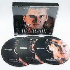 WWF WWE Invasion 2001 Original Video CD VCD Set Undertaker Stone Cold Rare Last