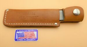 """Schrade USA made HS1 Old Timer """"Honesteel""""-Steel with Sheath"""