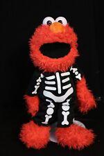 Sesame PLACE Elmo in Skeleton Costume Plush Toy Doll 2011 RARE