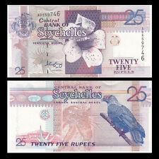 Seychelles 25 Rupees, ND(1998), P-37, UNC