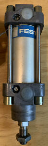 FESTO 40MM BORE 25MM STROKE PNEUMATIC CYLINDER, DNG-40-25-PPV 145psi