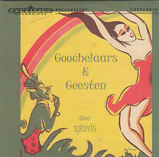 Spinvis-Goochelaars&Geesten cd album Cardsleeve