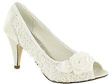 Women's Bridal or Wedding Satin Heels
