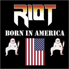 RIOT - Born In America  [BLACK Vinyl] LP