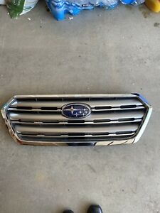 Genuine OEM 2015-2017 subaru outback And Legacy grille With Emblem.