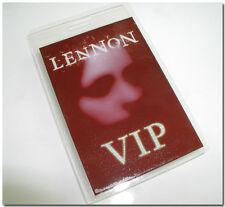 JULIAN LENNON (son of John) ORIGINAL VIP BACKSTAGE CONCERT PASS LAMINATED UNUSED