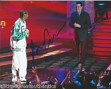 COMEDIAN ADAM CAROLLA HAND SIGNED AUTHENTIC SNOOP DOGG MTV 8X10 PHOTO w/COA