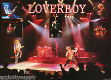 POSTER : MUSIC : LOVERBOY - IN CONCERT FREE SHIPPING !  #15-300  RAP6 D