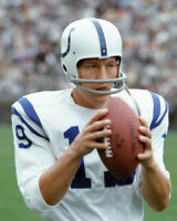 Baltimore Colts JOHNNY UNITAS Glossy 8x10 Photo NFL Football Print Poster