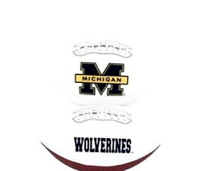 Michigan Wolverines Rawlings Signature Full Size Ncaa College Team Logo Football
