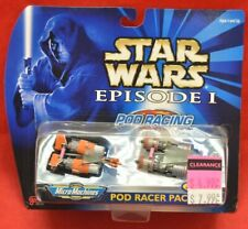 Galoob Micro Machines Star Wars Episode I Pod Racer Pack NEW SEALED 1568