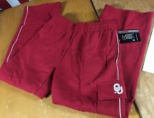 NWT new OU Oklahoma SOONERS Red Cargo athletic Sweat Pants BOYS Youth XL Fleece