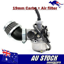 19MM CARBURETTOR CARBY + AIR FILTER 50CC 110CC 125CC BUGGY PIT DIRT QUAD Bike TD