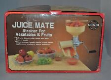 New listing Norpro Juice Mate Fruit Vegetable Strainer With Box And Instructions