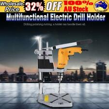 Universal Holes Bench Drill Press Stand Frame Metal Base Machine Tool Holder AU