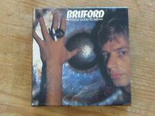 "Bill Bruford: ""Feels Good"" Japan Mini-LP Promo Box [no cd yes king crimson QHx"