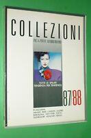 Revista Raro Collezioni Donna N.3 Otoño/Invierno 1987/88 Moda By Trend