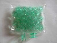 20 Green Bobbins Viking Husqvarna Sewing Machines #4125615-45 #4123078-G NEW