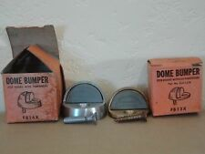 Vintage Lot of 2 Glynn-Johnson Floor Mounted Dome Bumper for Doors w/o Threshold