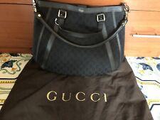 Borsa donna in pelle E Tessuto Gucci