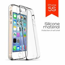 Case Army Clear Case SOLID hard back soft side Cover for Apple iPhone 5 5S SE 5G