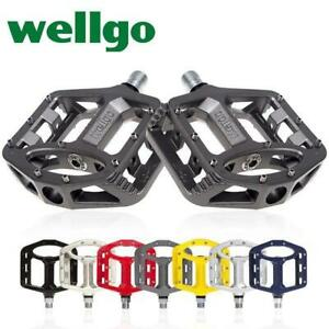 Magnesium pedal pedal for DU bearing of wellgo Veig 249 / M195 mountain bicycle