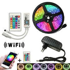 5050 светодиодная лента WiFi Rgb red, green, синий и белый/Ww светодиодной ленты + Wifi пульт дистанционного управления + Power