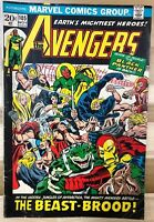 THE AVENGERS #105 (1972) Marvel Comics Black Panther VG+