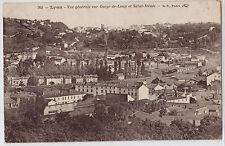 CPA -69-  LYON - Vue générale sur Gorge-de-Loup et Saint-Irénée.