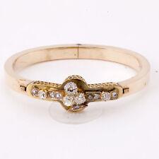 ANTIQUE RUSSIAN DIAMOND 56 GOLD BRACELET