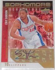 2009/10 Eric Gordon Upper Deck Sophomore Sensations Auto Card #SS-EG Ser #/199