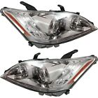 Headlight Set For 2010-2011 Lexus ES350 Base Model Left and Right Clear Lens 2Pc