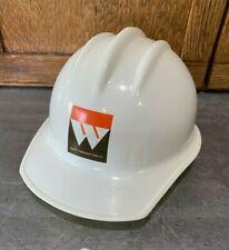 Vtg 1986 Bullard Hard Boiled Hat 302 Safety Cap White Construction Co Size 65 8