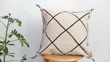 beni ourain cushion/Wool Cushion Cover/ Boho Pillow Cover