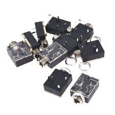 10 pezzi Supporto a circuito stampato in plastica connettore audio a 5 pin Y8Q4
