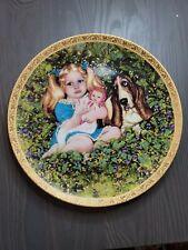 Nancy Turner Jenny Collector Plate 1984 on English Bone China c1