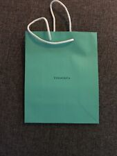 Tiffany Co. Blue Bag Paper Shopping Tote Jewelry Gift Bag