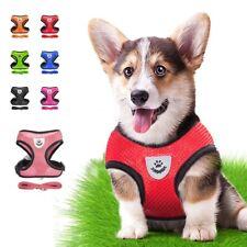 New listing Cat Dog Adjustable Harnesses Vest Leash Set For Puppy Dog Collar Mesh Harness Us