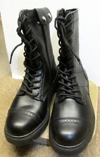 PARATROOPER SIDE ZIP MILITARY BOOT GOODYEAR WELT CONSTRUCTION SIZE US 11 BLACK