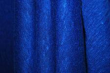 "100% Linen Jersey Knit Fabric By Yard  Semi Sheer highend fabric 60"" Wide Royal"
