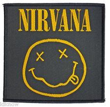 """Nirvana Smiley Patch 10 cm x 10cm (4"""" x 4"""")"""